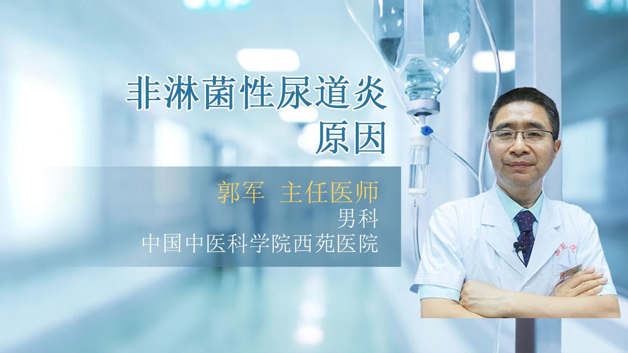非淋菌性尿道炎原因