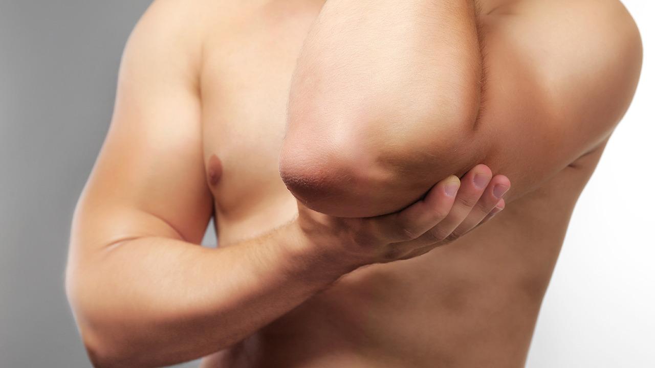 管 症候群 部 肘