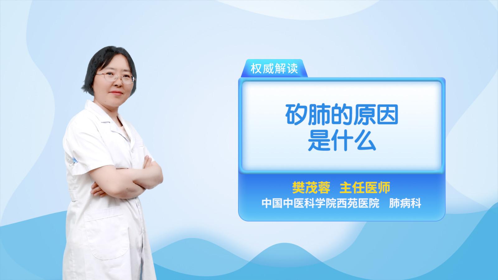 矽肺的原因是什么