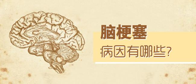 脑梗塞的病因有哪些